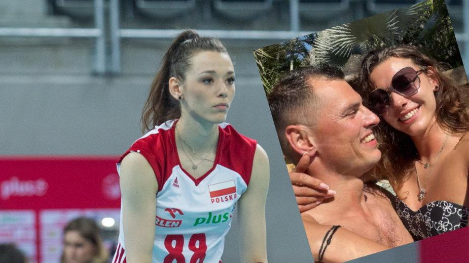 Zuzanna Górecka i Zbigniew Bartman