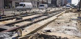 Wstrzymano prace na Dąbrowskiego. Zakończenie remontu pod znakiem zapytania