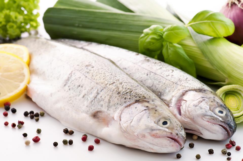 10 morskich superproduktów: Pstrąg tęczowy