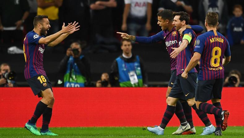 66d68b5f08 Tottenham Hotspur - FC Barcelona  wynik meczu - Liga Mistrzów ...