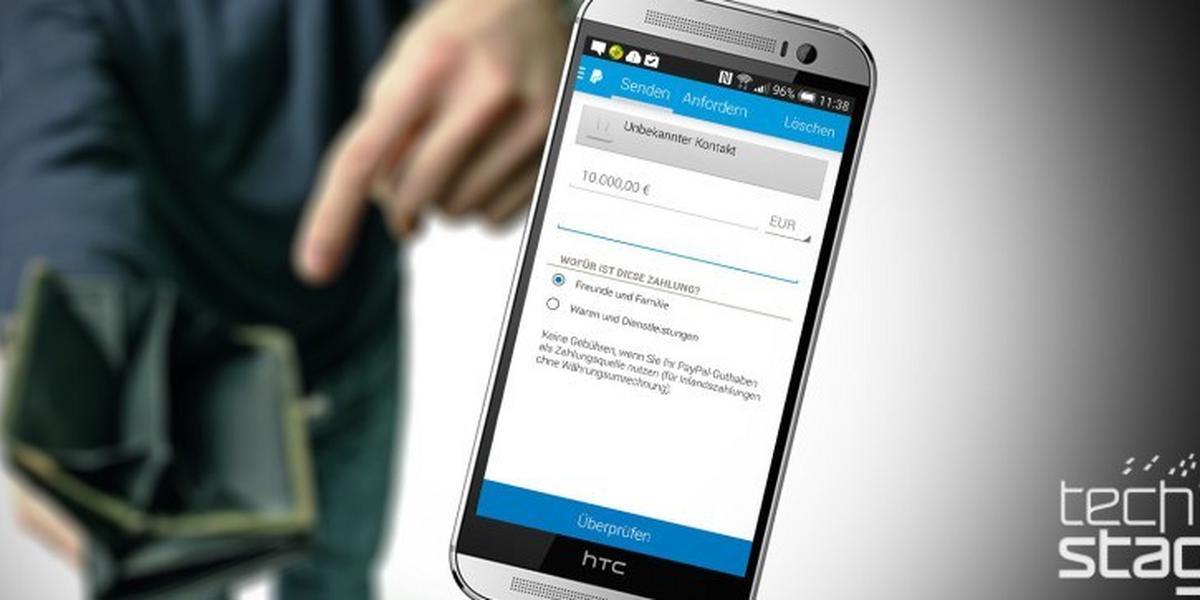 Mit PayPal-App kostenlos Geld an Freunde schicken | TechStage
