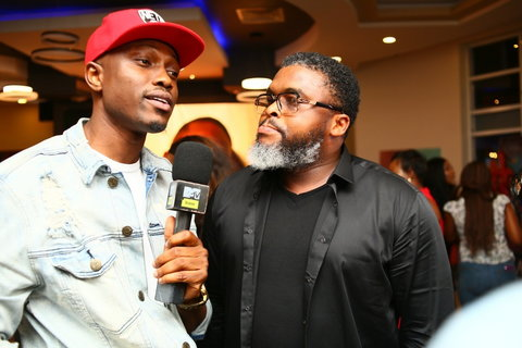 Vector (Left) and Larry Gaga have collaborated for a theme song for the season 4 of MTV Shuga Naija tagged 'Choices'. [BHM]