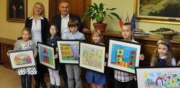 To byli goście! Dzieci odwiedziły prezydenta