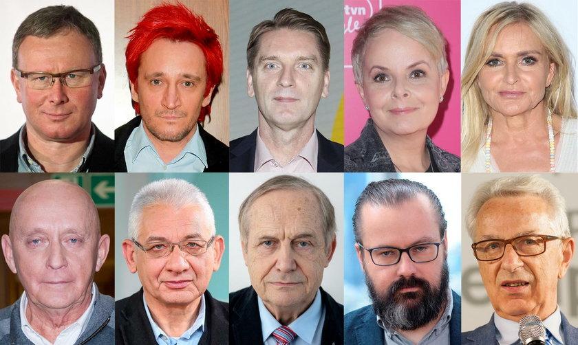 Znani Polacy wyrażają solidarność z dziennikarzami Faktu