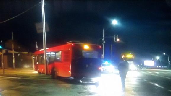 Velika šteta i na autobusu