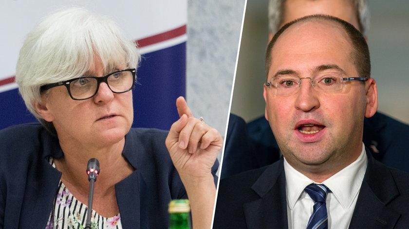 Joanna Kluzik-Rostkowska i Adam Bielan