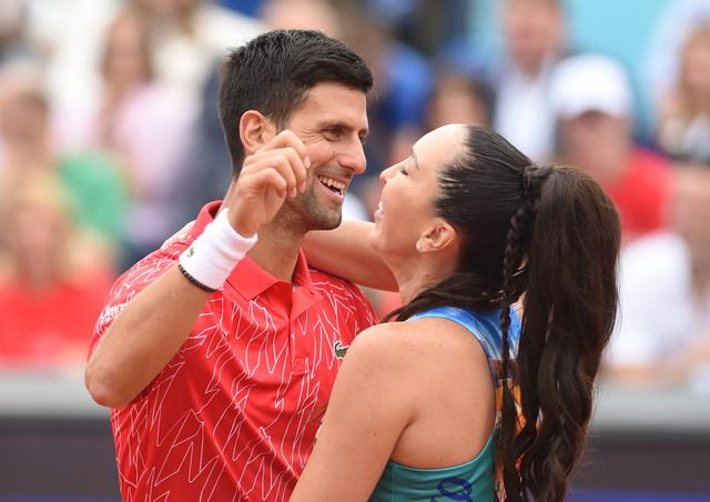 Novak Đoković i Jelena Janković