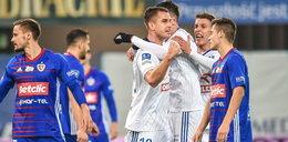 Cztery gole w Gliwicach. Piast uratował punkt w doliczonym czasie gry