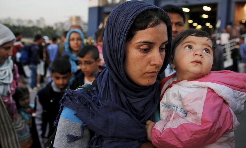 Uchodźcy syryjscy