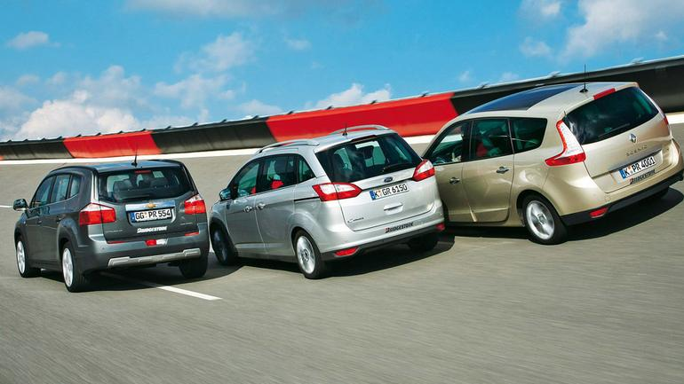 Ford Grand C-Max kontra Chevrolet Orlando i Renault Grand Scenic: czy oferują coś poza przestrzenią?