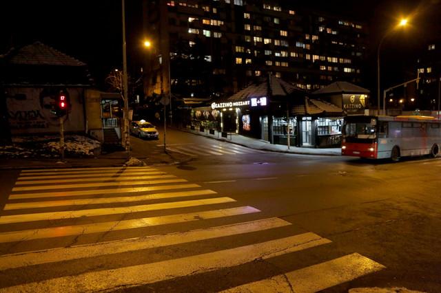 Automobil se kretao uz Čelebićku ulicu, a na njega je naletelo drugo vozilo na uglu ulica Bogdana Žerajića i Borske