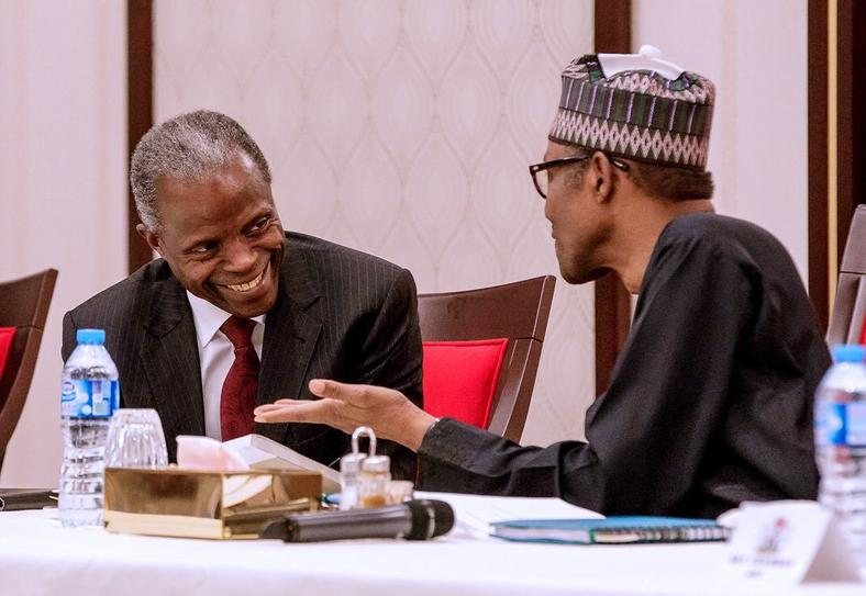 Image result for Osinbajo: We all know Buhari is not an orator