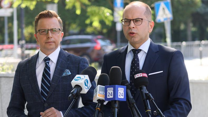 Dariusz Joński i Michał Szczerba