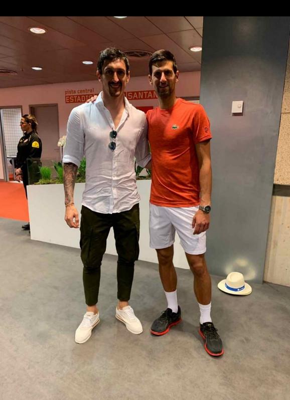 Stefan Savić i Novak Đoković