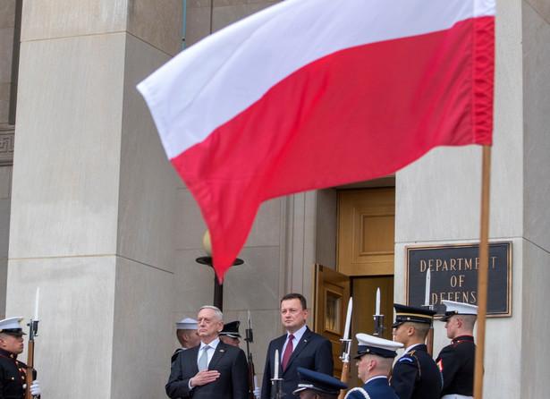 Mariusz Błaszczak i Jim Mattis