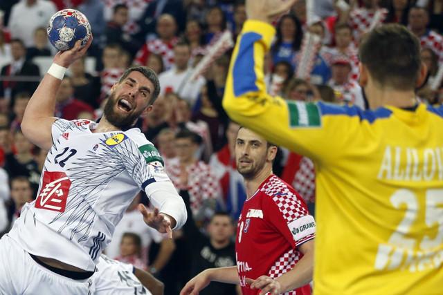 Mirko Alilović na duelu protiv Francuza