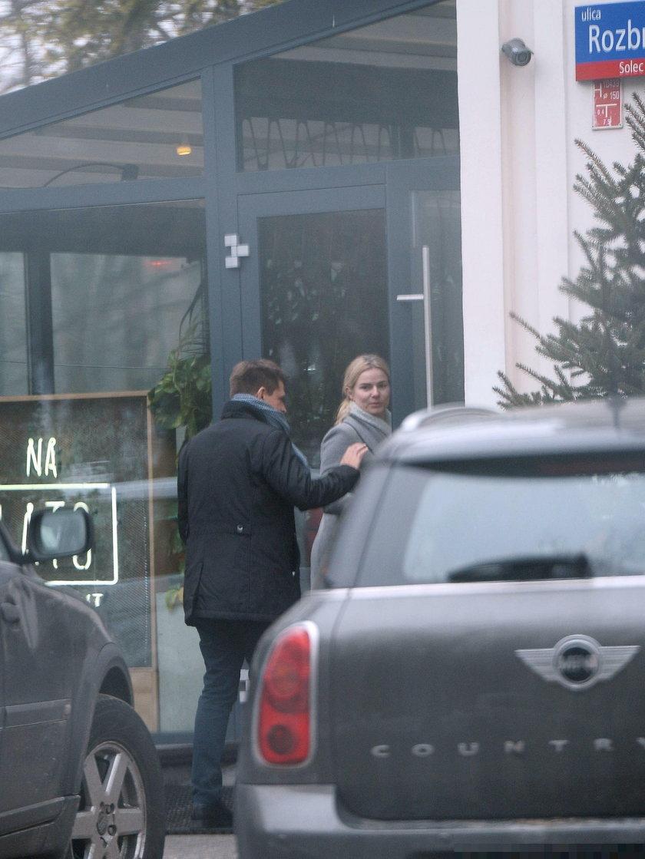 Ryszard Petru i Joanna Schmidt na randce