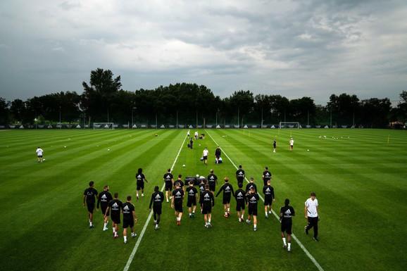 Trening fudbalera Real Madrida u Kanadi