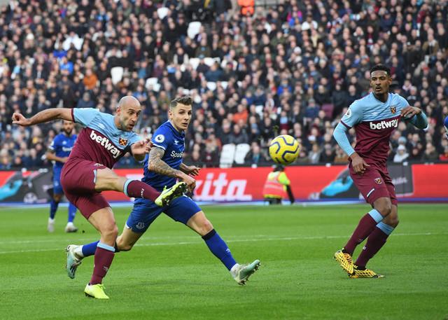 Detalj sa meča Vest Hem - Everton