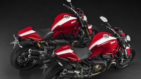 Motocykle Ducati Monster w nowej wersji Stripe