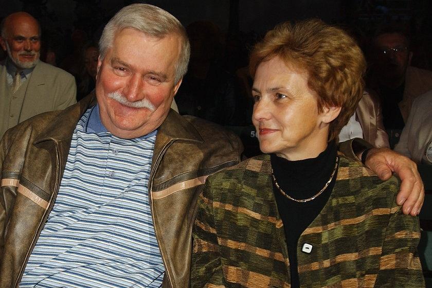 Lech Wałęsa i Danuta Wałęsa