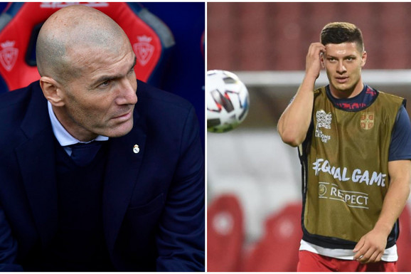 """""""DOSTA VIŠE!"""" Zinedin Zidan je imao ne baš lepu poruku za našeg golgetera, a Luka Jović se odlučio na OVAKAV ODGOVOR!"""