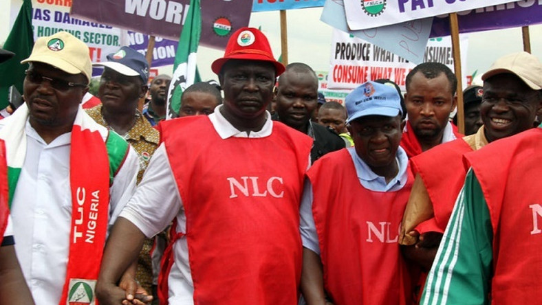 Nigeria Labour Congress and Trade Union Congress insist on planned strike on Monday despite court order (Punch)
