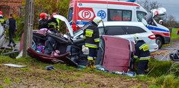 Tragiczny wypadek pod Jarocinem. 4-miesięczne dziecko zmarło w szpitalu. Nowe fakty