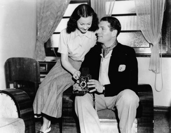 Li i Olivije u Australiji, jun 1948.