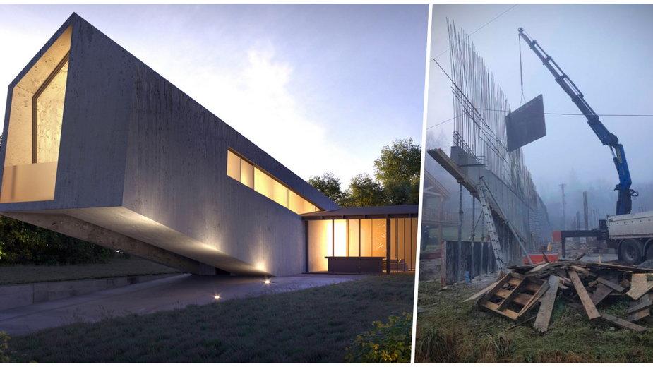 Dom przyszłości w Beskidzie Śląskim. Zaglądamy na plac budowy!