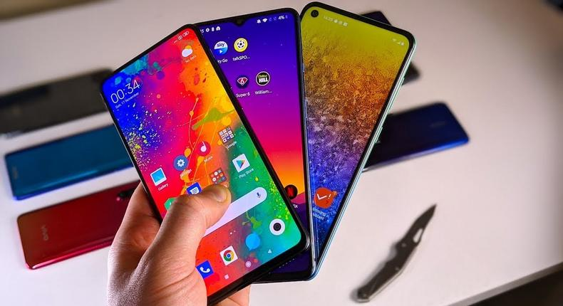 5 Best Smartphones With Dual Cameras Under ₦100,000 ($210)