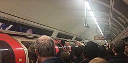 W metrze utknęła mu głowa. O krok od tragedii