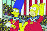 TheSimpsonsOlympicCurlingGoldMedal
