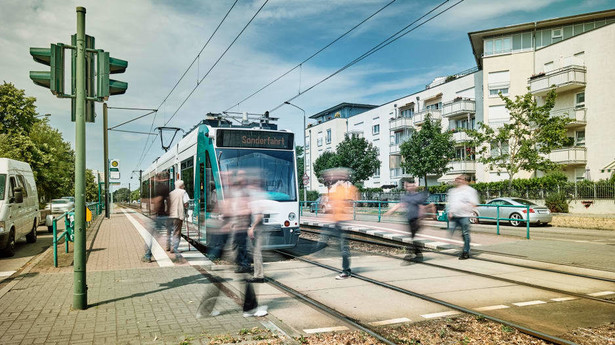 Siemens tram potsdam