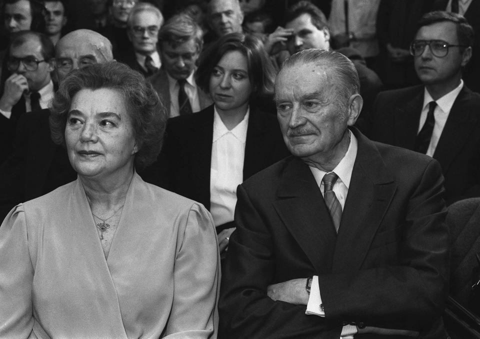 Alicja Solska-Jaroszewicz i Piotr Jaroszewicz
