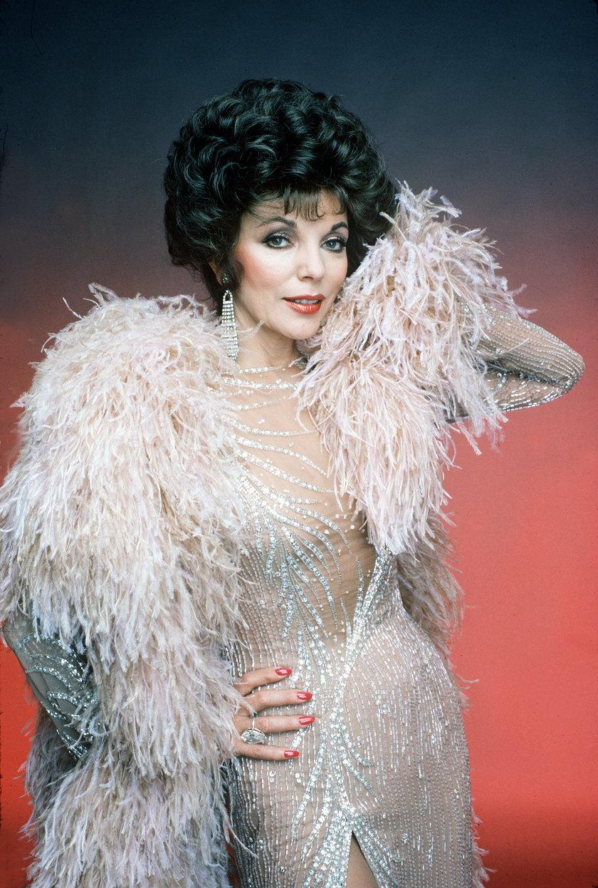 """Joan Collins był największą gwiazdą """"Dynastii"""""""