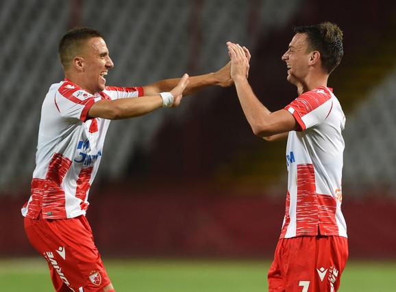 Detalj sa utakmice Crvena zvezda - Novi Pazar
