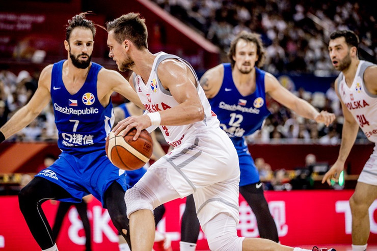 Košarkaška reprezentacija Poljske, košarkaška reprezentacija Češke