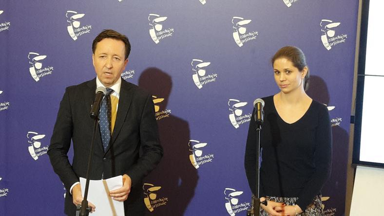 Wiold Pahl i Magdalena Młochowska