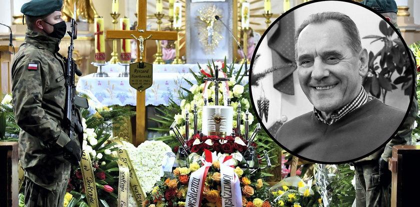 Pogrzeb Ryszarda Szurkowskiego