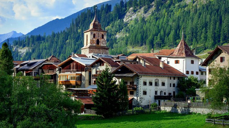 Bergün / Bravuogn, Szwajcaria