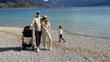 Anna i Robert Lewandowscy spędzili rodzinny weekend nad jeziorem