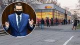 Lockdown w Polsce. Nowe obostrzenia. Ile osób będzie mogło wejść do Biedronki czy Lidla?