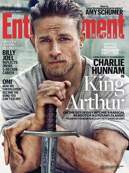 """Knights of the Round Table: King Arthur"" - okładka ""Entertainment Weekly"""