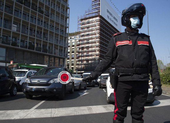 Italija za vreme virusa korona