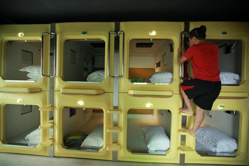 Najdziwniejsze hotele na świecie - Hotel kapsuła