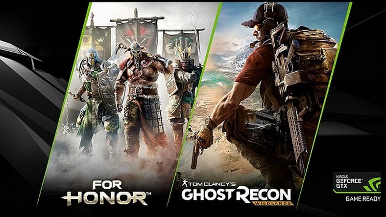 Darmowe For Honor lub Ghost Recon: Wildlands w zestawie z kartami GeForce 1070 i 1080