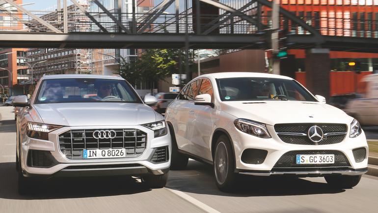 Audi Q8 kontra Mercedes GLE Coupe