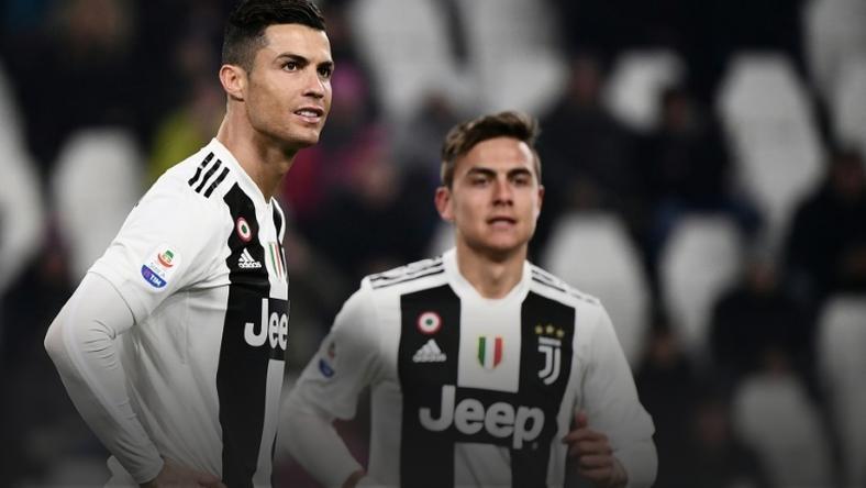 Cristiano Ronaldo and Paulo Dybala both scored for Juventus