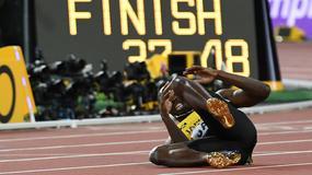 """Bolt, """"złoty chłopiec"""" z Jamajki, kontuzją zakończył karierę"""